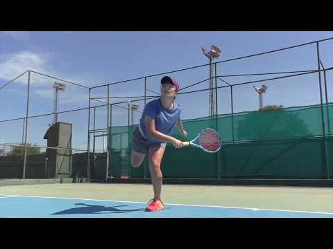 Women's Tennis | Fiorella Mendez, Paraguay | Training Video | Recruit 2020