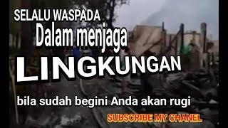 Kebakaran Simprug senayan video Amatir