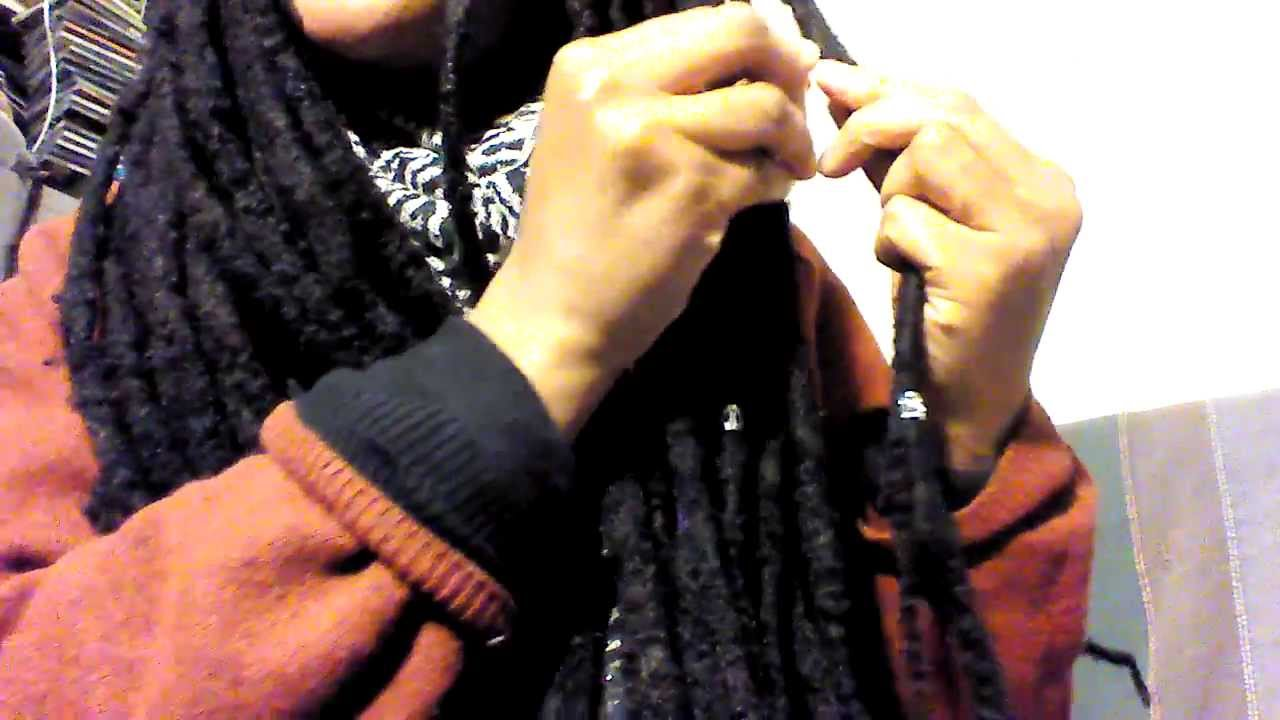How To Ly Dreadlock Cuffs Jewelry Tutorial