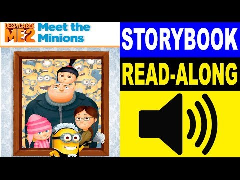 Despicable Me Read Along Story book | Meet the Minions | Read Aloud Story Books for Kids