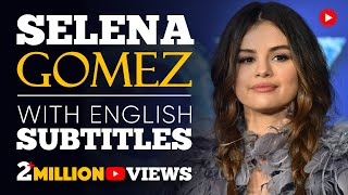 Learn english with selena gomez. talks about her life and some of the hardships she's encountered in career to a crowd 16,000 youth at firs...