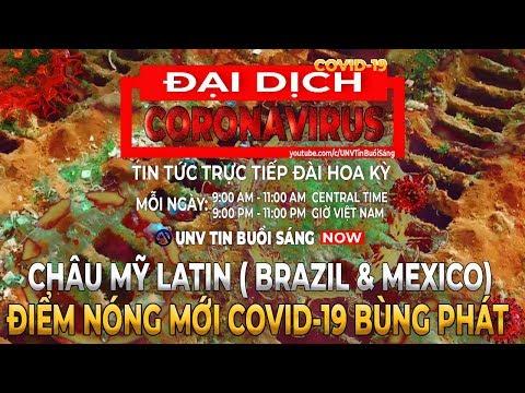 Tin tức dịch corona mới nhất ngày 24/5/2020 | BRAZIL & MEX ĐIỂM NÓNG MỚI COVID-19 BÙNG PHÁT【A1420】