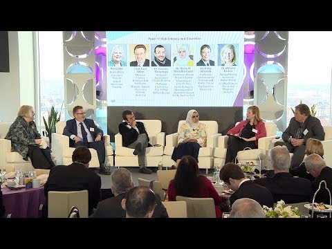 Risk Literacy and Education | Global Resilience Research Network Summit | Panel 1