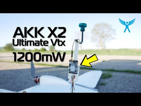 AKK X2 Ultimate 1200mW Vtx Long Range Test (oh, It Is GOOD!)