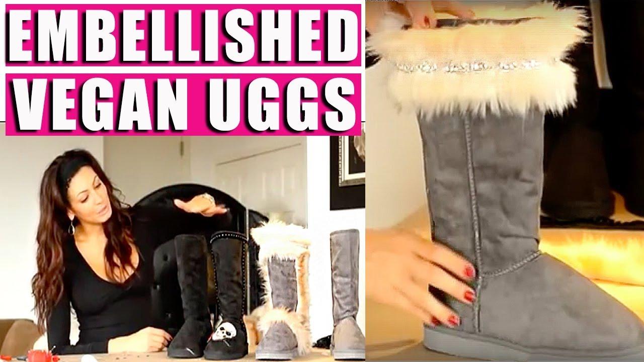 cc4f3488657 DIY Faux Fur Ugg Boots - Fashion Hacks