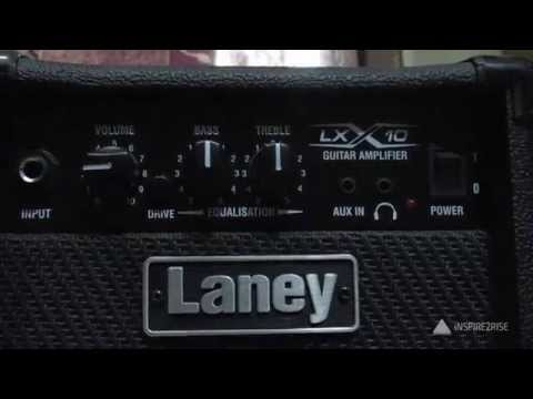 Laney guitar amplifier review, sound quality test
