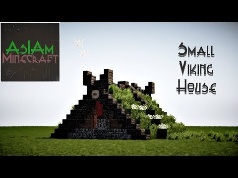 Minecraft Tutorial Small Viking House By Asiaminecraft