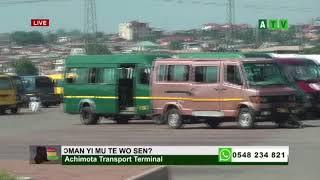 Ghana has the best bus termal in West Africa (Achimota Terminal)