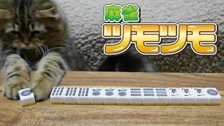 麻雀する猫。【麻雀ツモツモ】 thumbnail