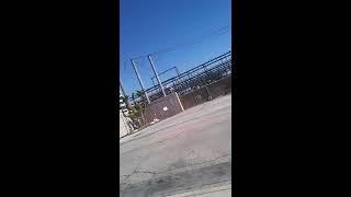 West Hollywood homeless encampment on poinsettia place