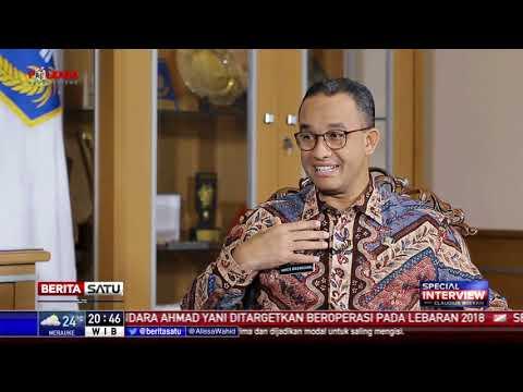 Special Interview: Gubernur Anies Ngotot Tolak Reklamasi