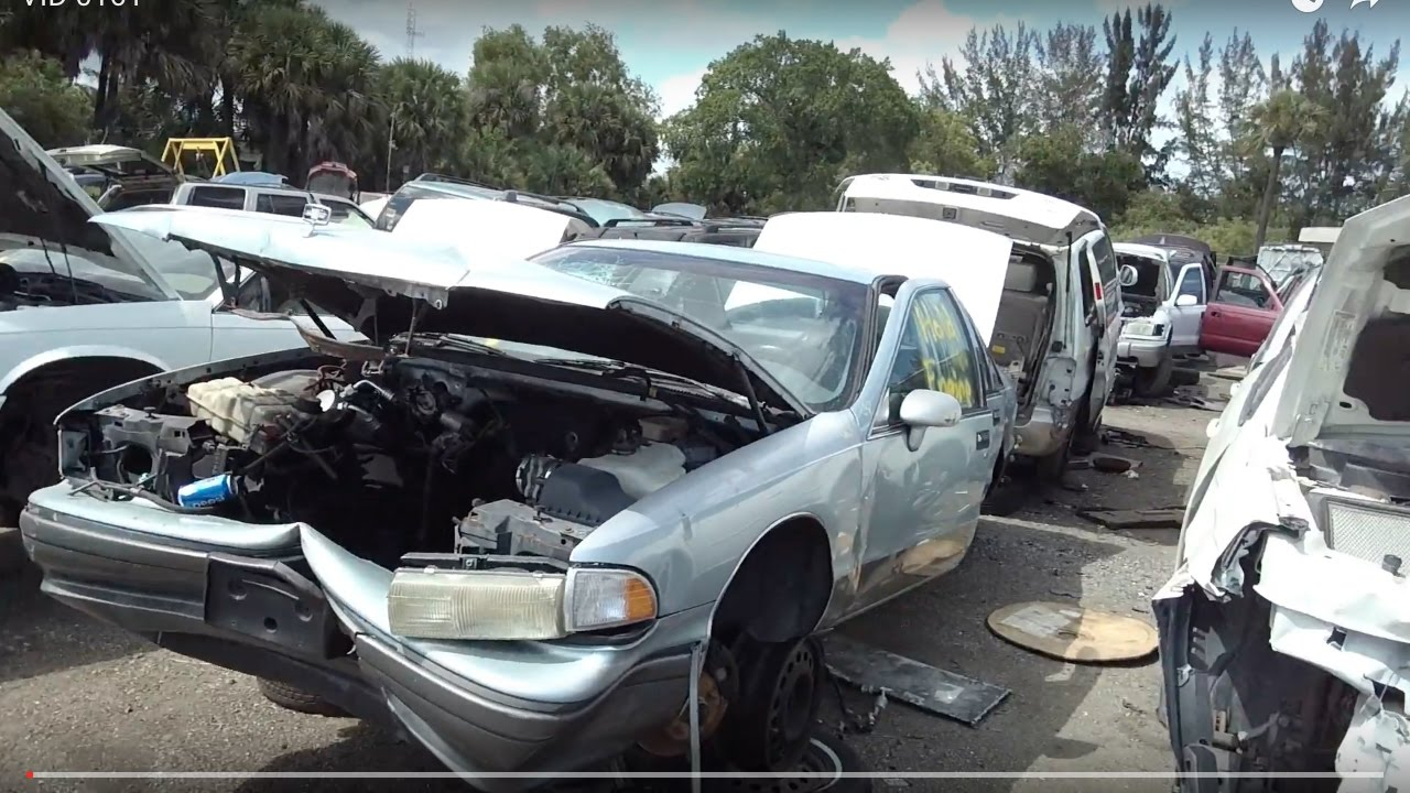 1994 Chevy Caprice sedan at U Pull & Pay junkyard in West Palm Beach ...