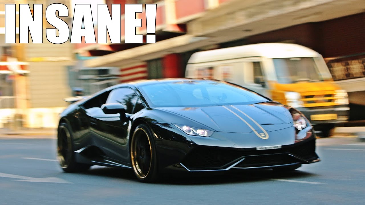 lamborghini huracan crazy accelerations on the streets youtube. Black Bedroom Furniture Sets. Home Design Ideas