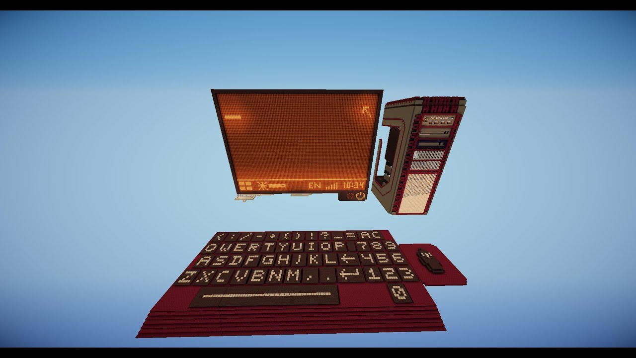 Minecraft - Interactive Redstone Computer W/ a Calculator ...