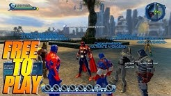 DC Universe Online - PS4 1080P Free To Play Game / 1st Time Playing