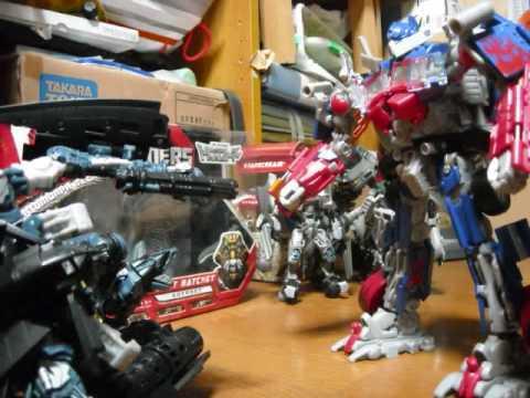 Transformers Stop Motion Nemesis Prime  Youtube