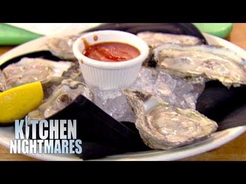 Restaurant Serves WARM Oysters   Kitchen Nightmares