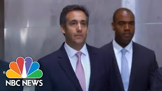 Ex-Trump Lawyer Michael Cohen Reaches Plea Deal | NBC News