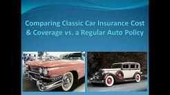 Comparing Classic Car Insurance Cost & Coverage vs. Regular Auto Insurance