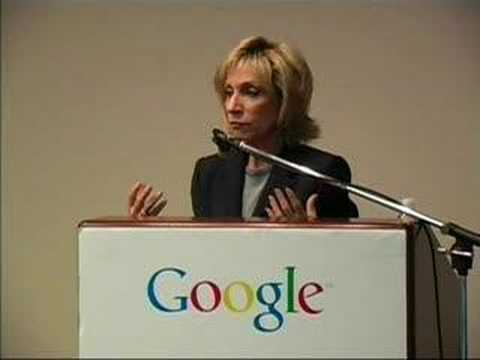 """Talking Back"" - Andrea Mitchell speaks at Google"