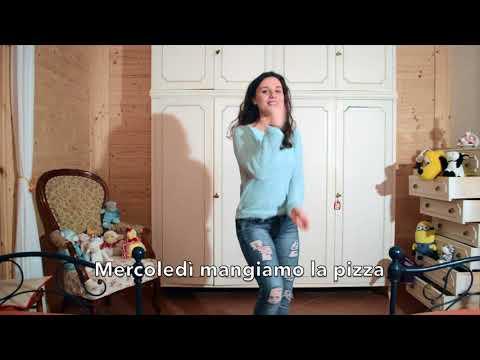 I giorni della settimana - canzone per bimbi dell'asilo da ballare con mosse