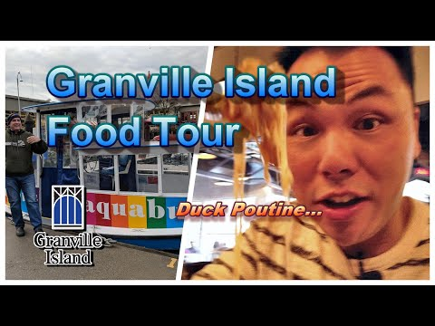 Happy New Year From Vancouver -  Tour Of Granville Island (Edible Canada)