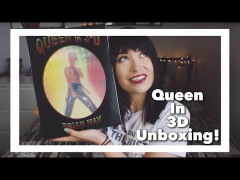 Queen In 3D Book Unboxing!