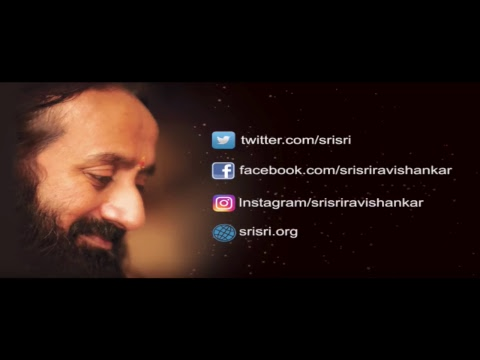 Live Satsang with Gurudev - Connect to Reconnect