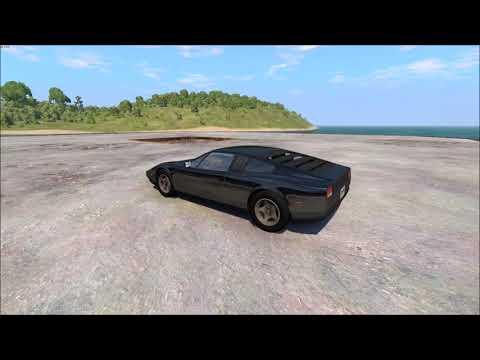 Civetta Bolide Port Run | BeamNG.drive Test drive