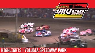 Super DIRTcar Series Big Block Modifieds Volusia Speedway Park Highlights
