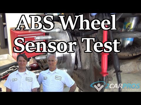 How to Test an ABS Wheel Sensor