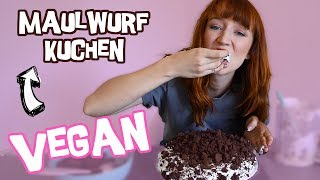 Veganer Maulfwurfkuchen - Mirella backt ihre Geburtstagstorte