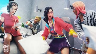 GIRLS OF SEASON 9 SLEEPOVER?! (A Fortnite Short Film)