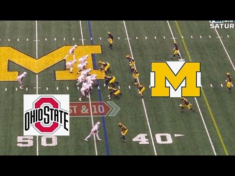 Ohio State vs Michigan 2019-2020 Football Game Highlights