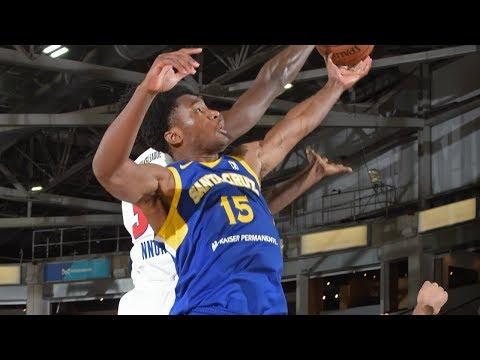 Damian Jones tallies 14 points vs. Drive at NBA G League Showcase