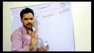 Real power vs reactive Power | Apparent Power | Simple example | LECTURE 22