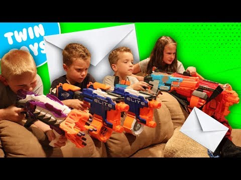 Nerf War:  Mail Time Mayhem 16