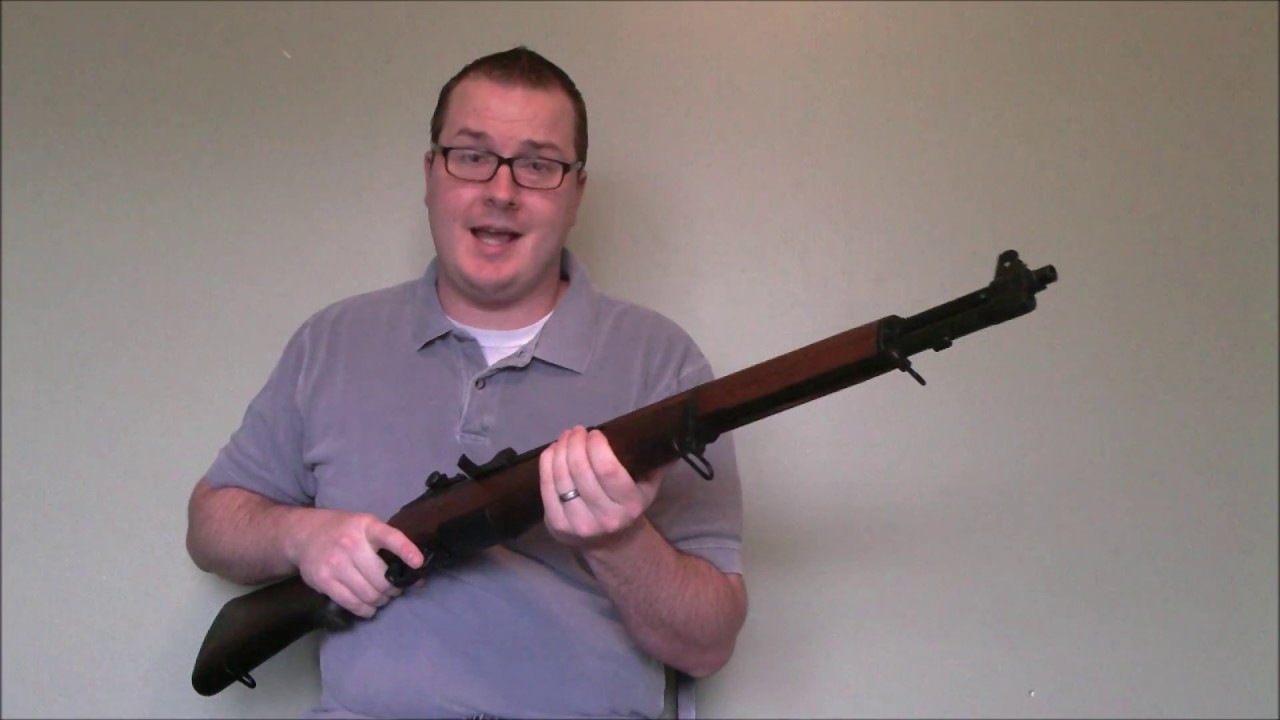 ICS M1 Garand Airsoft AEG Review Sneak Preview for Airsoft Insider ...