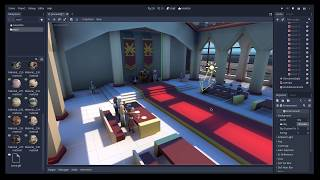Godot 3: Global Illumination Quick Set-Up on Existing Scene