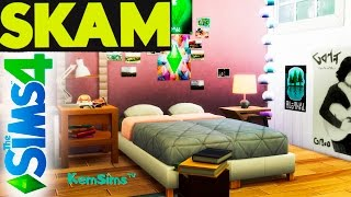 SKAM - Строим в The Sims 4 комнату Евы из сериала Стыд