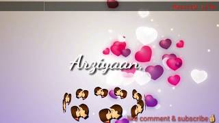 ❤Dil ki arziyaan mohabbat tak || cute whatsapp status || by Musical Life  musicallife