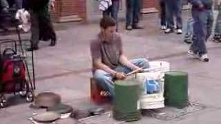 Best  Street Bucket Drumming! in East Coast