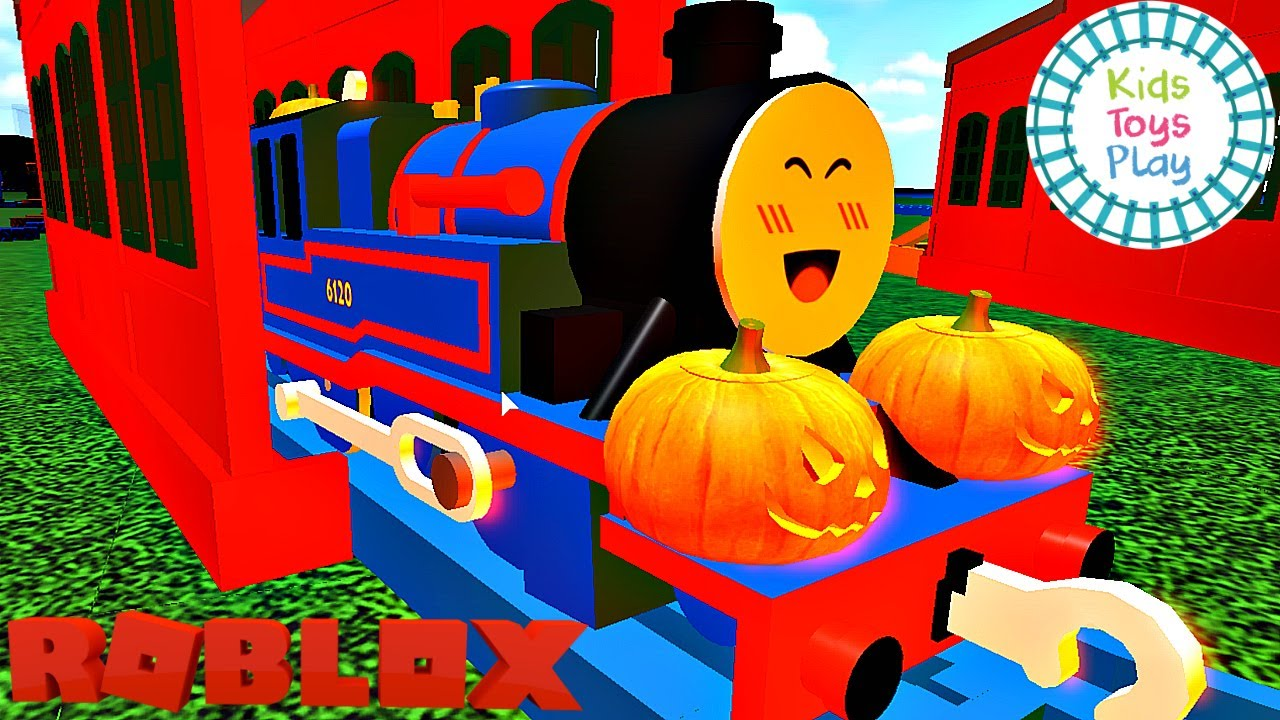 Roblox Gameplay Thomas and Friends TOMY Testing Grounds Halloween 2020