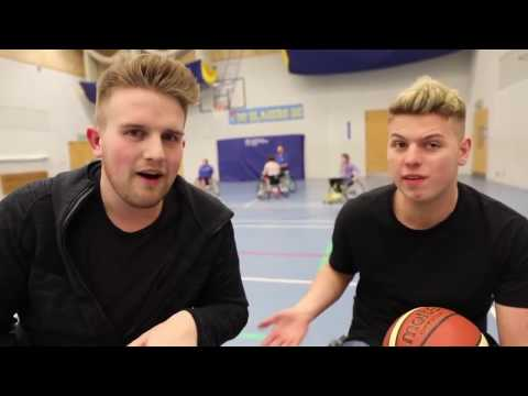 Thumbnail: VLOG: Ben Phillips Visits a Gloucestershire Wheelchair Basketball Club