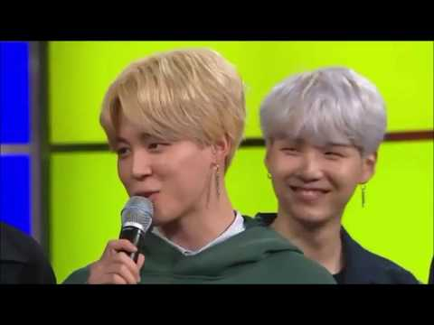 Yoongi being soft with bts members - YouTube