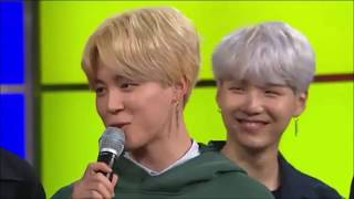 Yoongi being soft with bts members