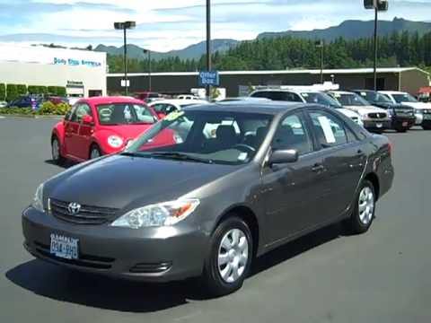 Sold 2003 Toyota Camry Le Gray Enumclaw Seattle Puyallup