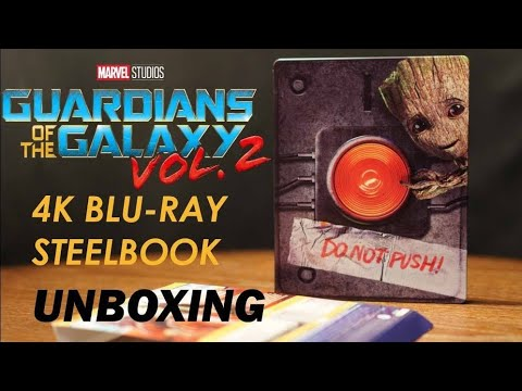 Guardians Of The Galaxy Vol.2 4K Bluray Best Buy Steelbook Unboxing