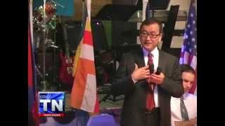 Sam Rainsy Leader of CNRP ( sangkrous Jeat party) speech at Lowell USA Khmer New Year 2013