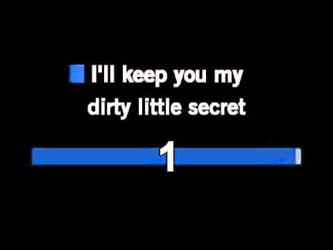 The All-American Rejects - Dirty Little Secret Karaoke With Lyrics Unofficial